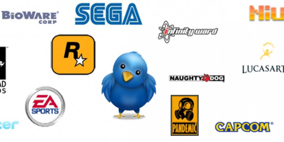 Directorio de Twitters relacionados con los videojuegos