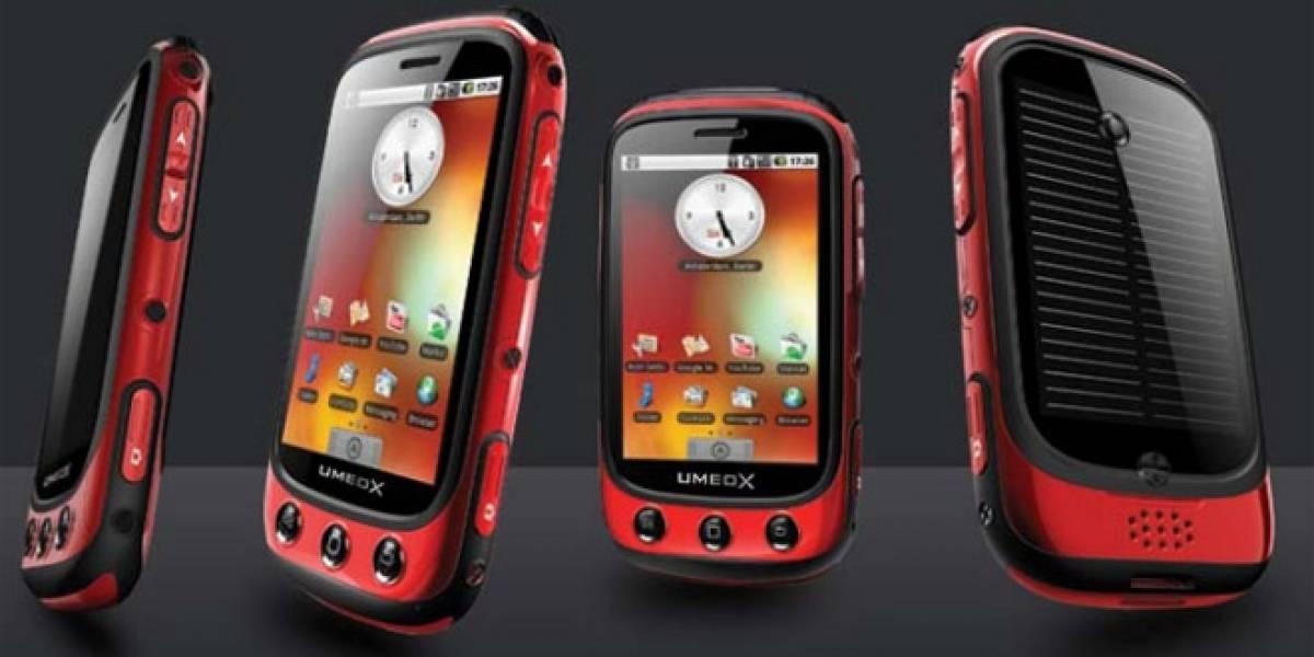 MWC2011: Les Presentamos al Umeox Apollo, un Android a Luz Solar