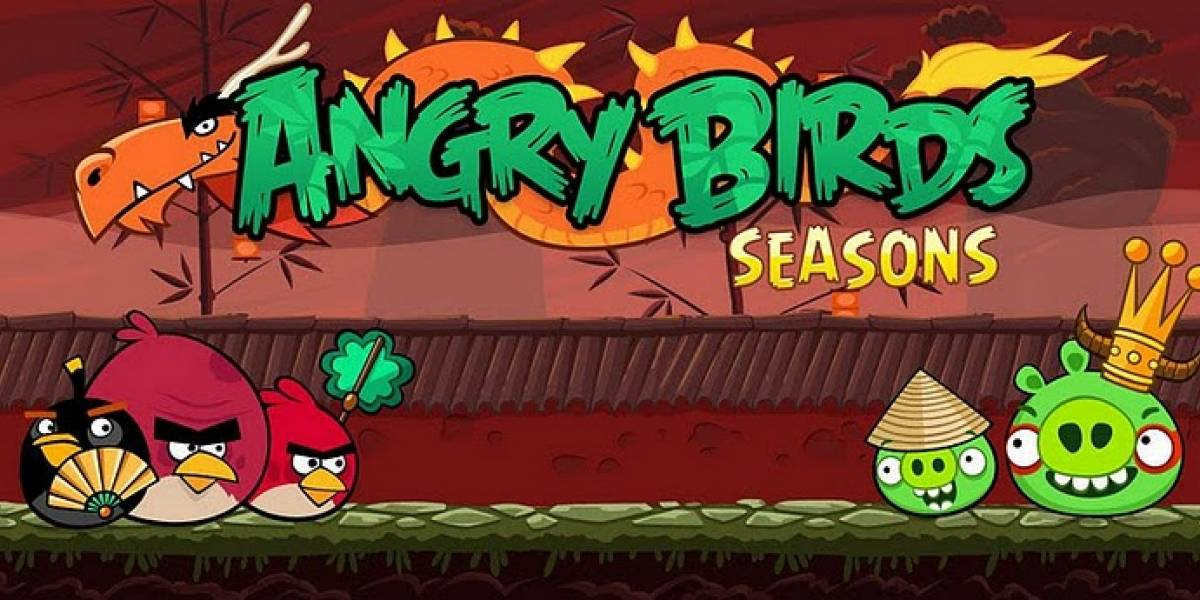 "Ya se encuentra disponible Angry Birds Seasons ""Year of the Dragon"""