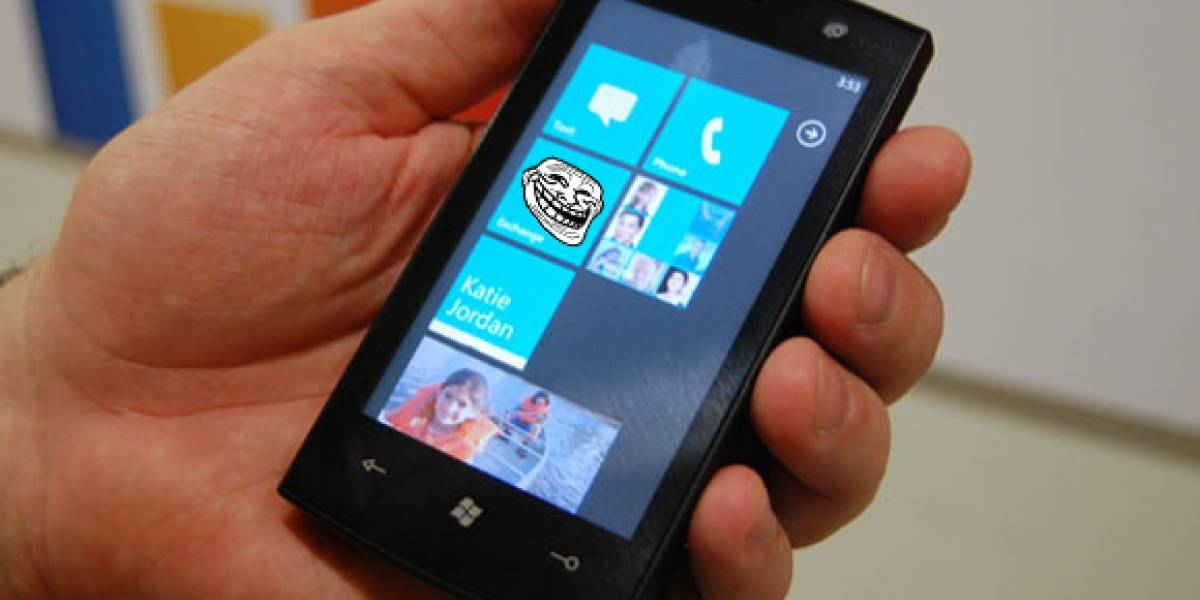 Microsoft investiga tráfico fantasma en WinPhone7
