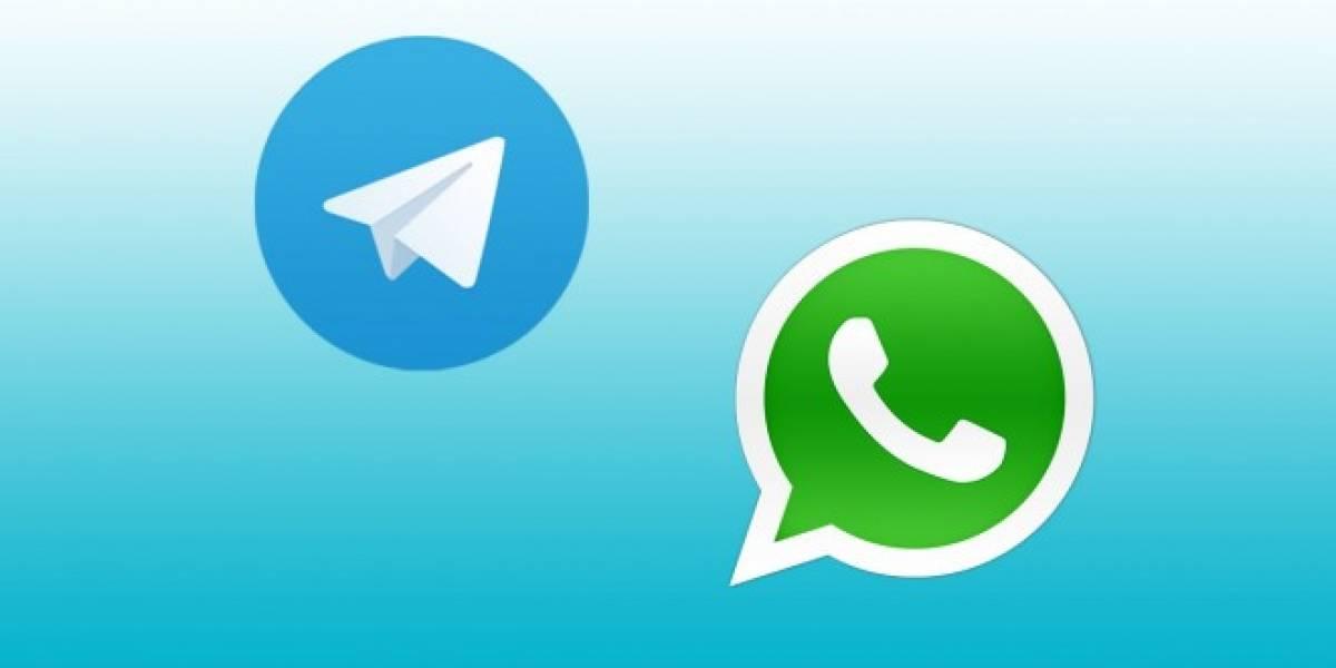 WhatsApp caído hace horas y Telegram sufre las consecuencias [Actualizado]
