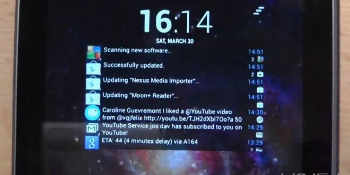Recibe notificaciones en la pantalla de bloqueo de tu Android