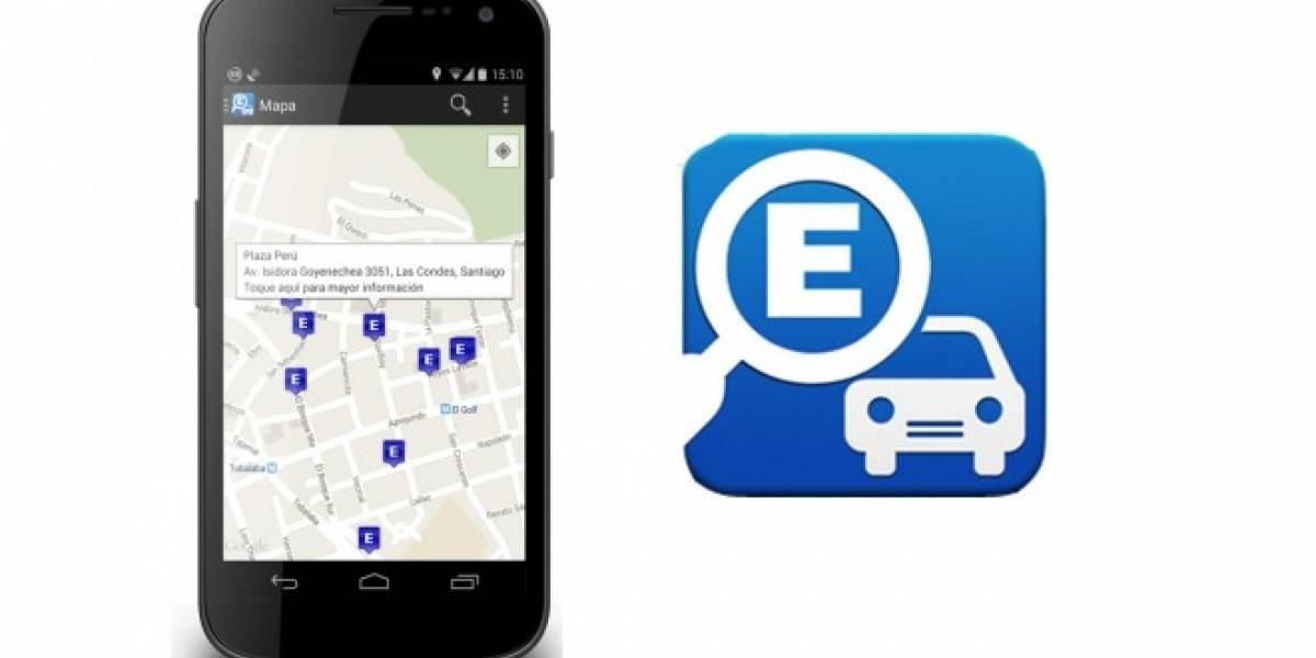 Encuentra estacionamientos disponibles con tu Android