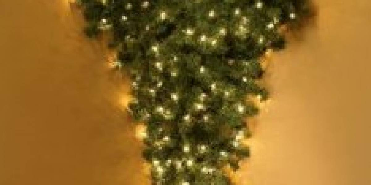 Árbol de Navidad... patas arriba