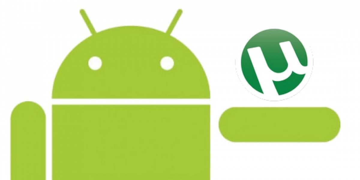 Pronto podría haber un cliente nativo de uTorrent para equipos con Android