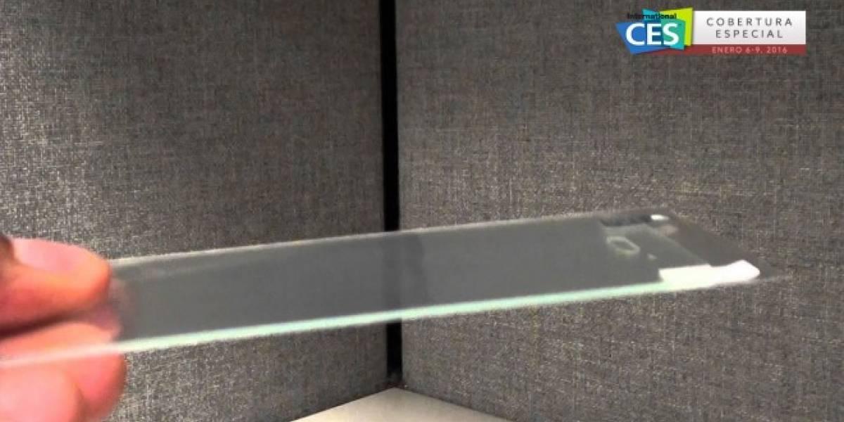 UU Glass Protector vuelve casi indestructible a tu smartphone #CES2016