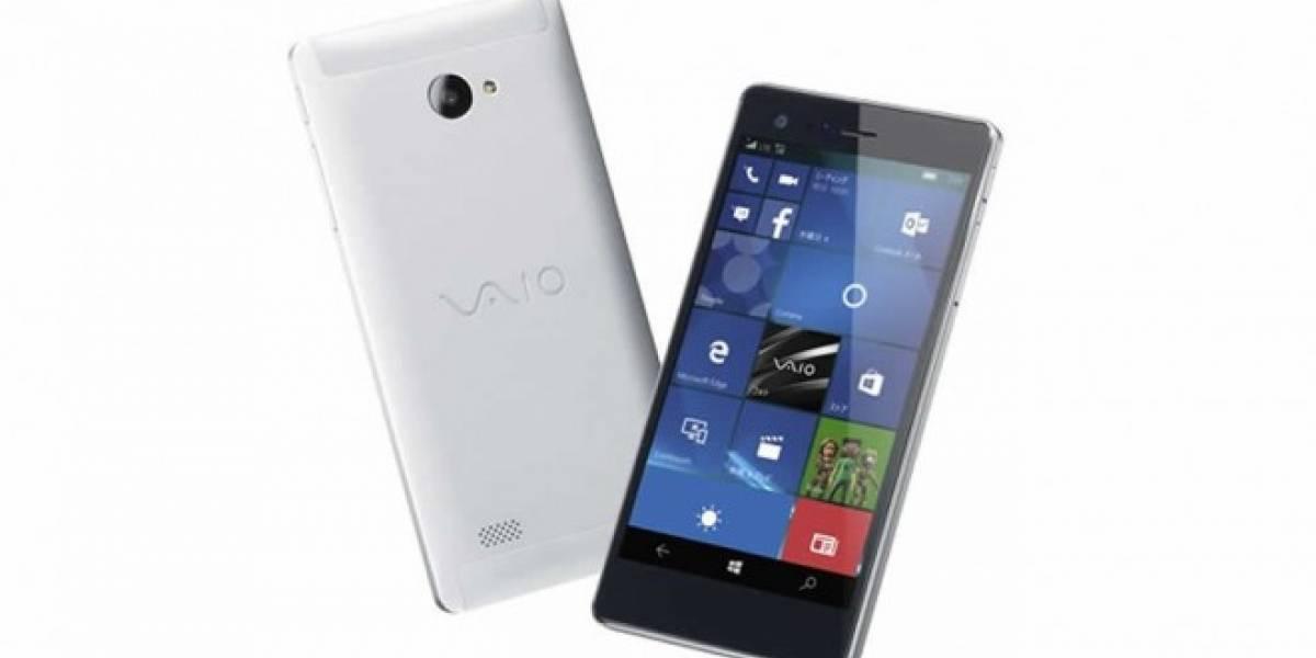 VAIO lanzará su primer móvil con Windows 10