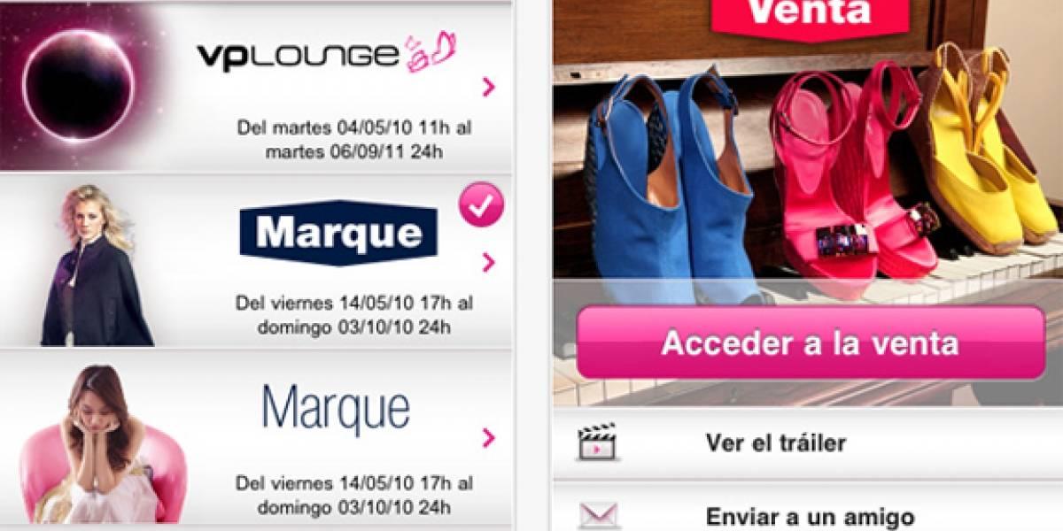 Vente-privee transforma tu iPad en un club de compras privado
