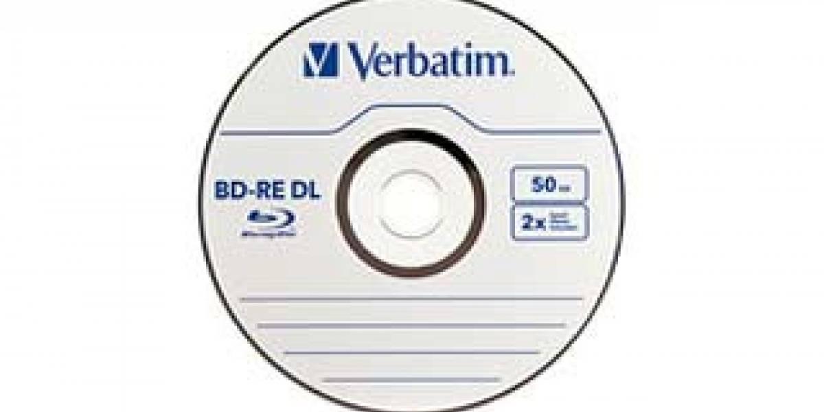 Verbatim lanza Blu-Ray de 50GB Re-escribible