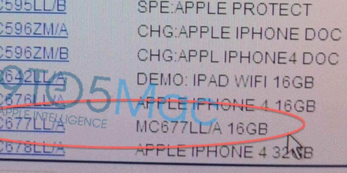 El iPhone blanco estaría ya de camino