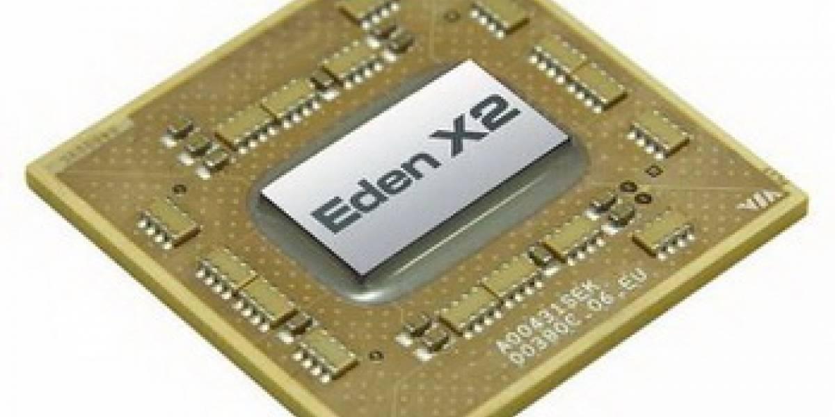 VIA anuncia su microprocesador Eden X2