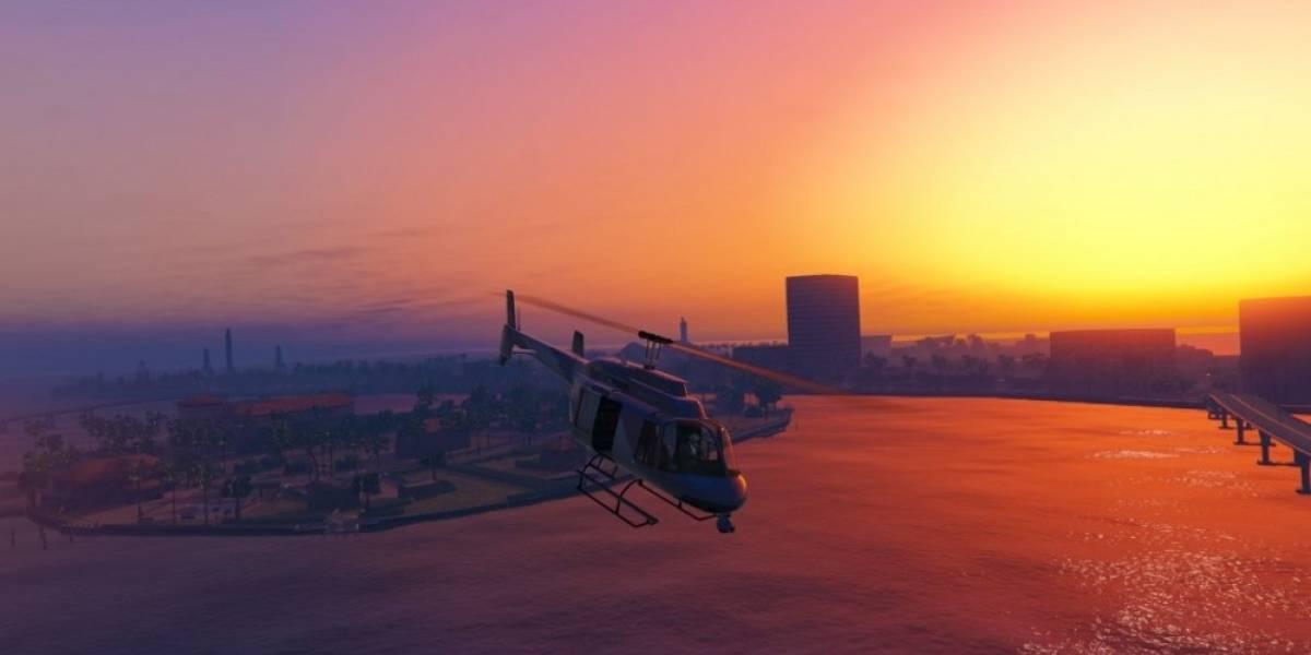 GTA V convertido en Vice City, gracias a mod