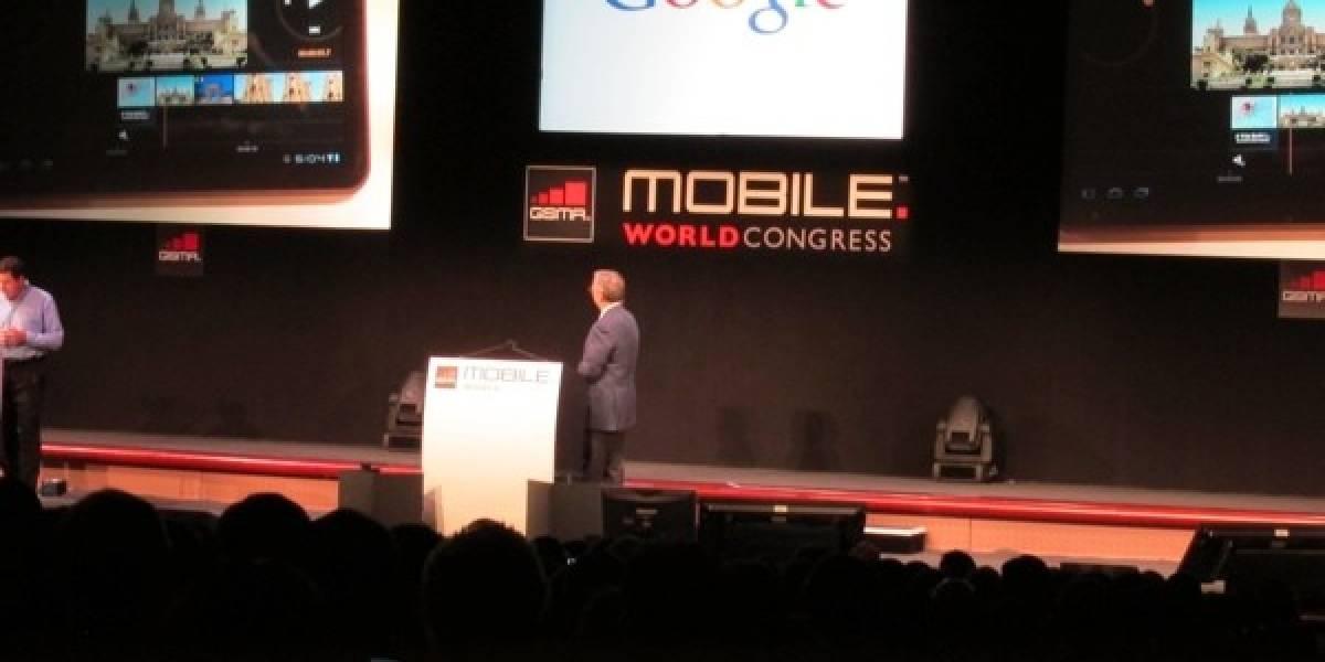 MWC2011: Eric Schmidt y lo nuevo de Android más un editor de video