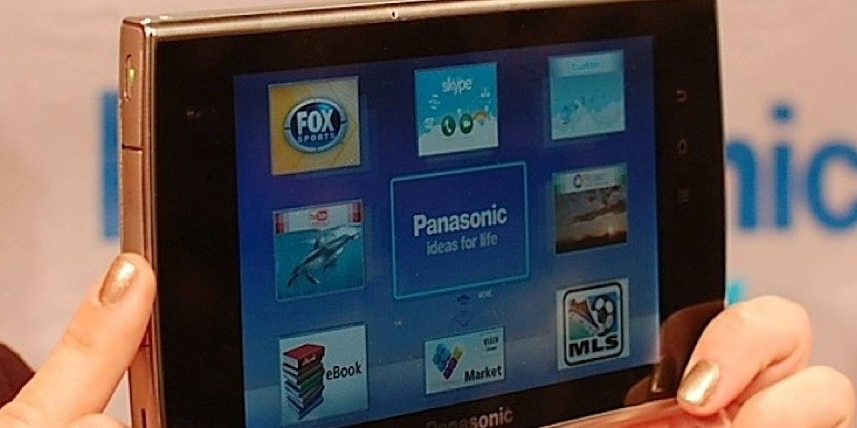 CES 2011: Panasonic lanza el Viera Tablet