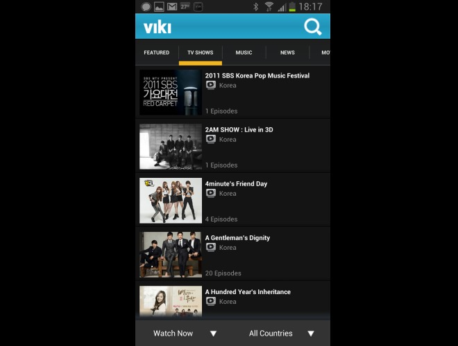 Viki: Visualiza TV, Videos, Películas, Animé y Doramas