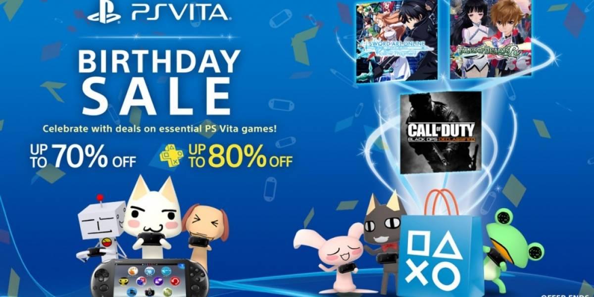 PS Vita celebra su tercer aniversario con una venta especial