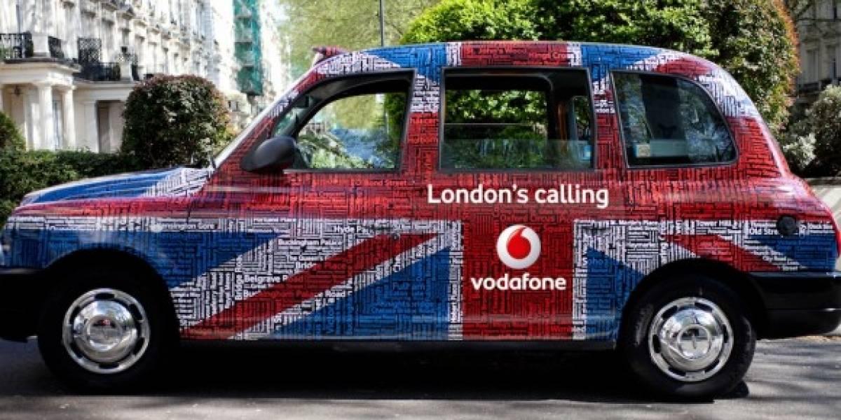 Vodafone ofrece servicio de pago en taxis en Londres