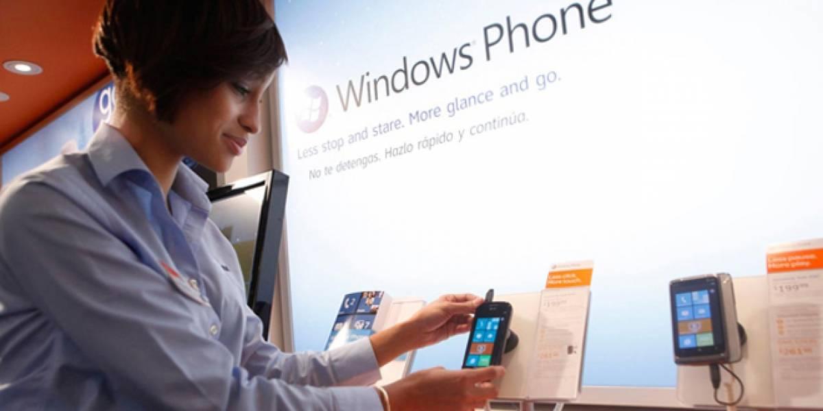 Microsoft y Nokia pagarán a tiendas para que recomienden Windows Phone 7