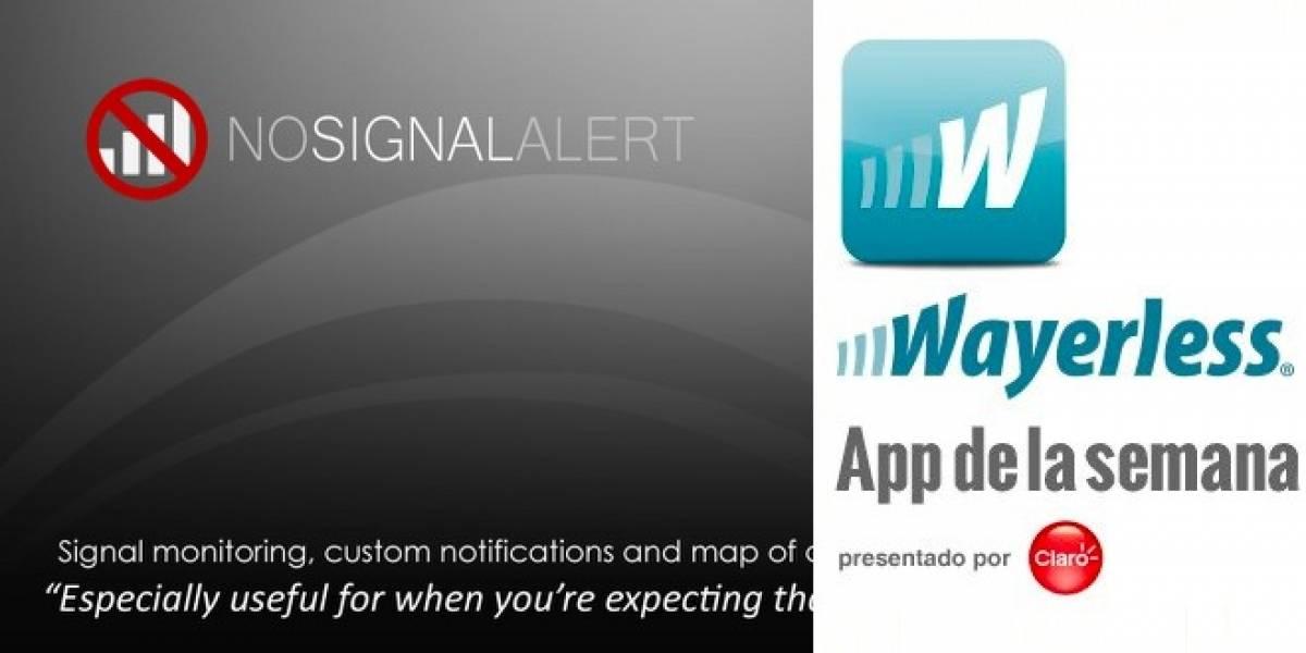 No Signal Alert: La app que te avisa cuando te quedas sin señal