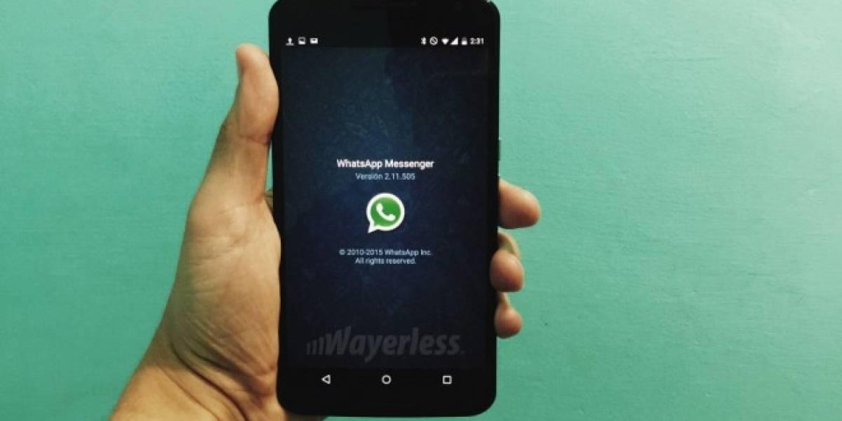 WhatsApp para Android elimina la posibilidad de crear copias de seguridad en Google Drive
