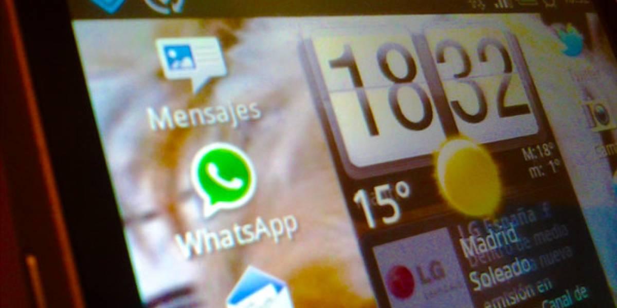 Fallo de seguridad confirma que WhatsApp tiene 10 millones de usuarios en España