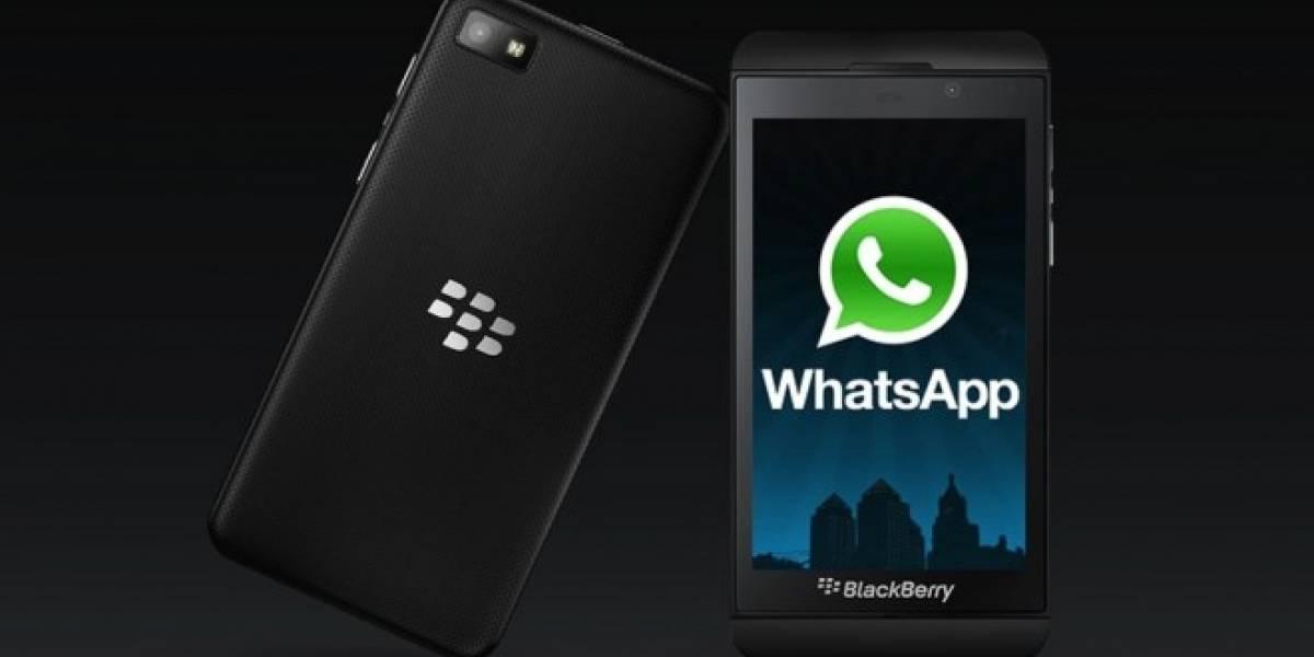 WhatsApp dejará de dar soporte a Blackberry en 2016