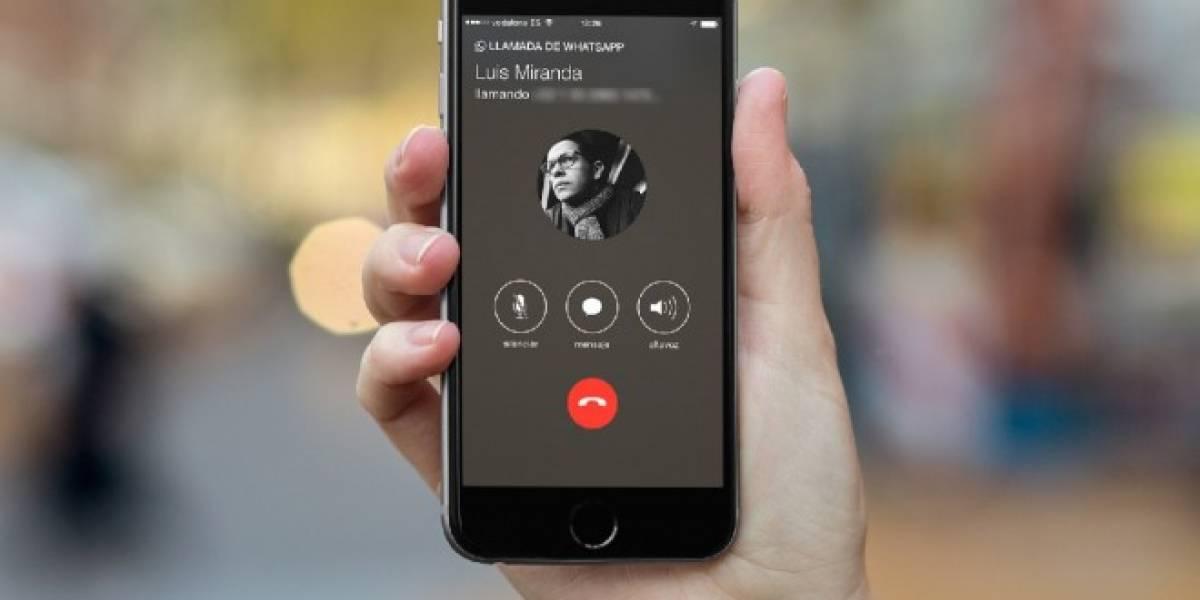 Llamadas de WhatsApp ya están activas para todos los usuarios de iPhone