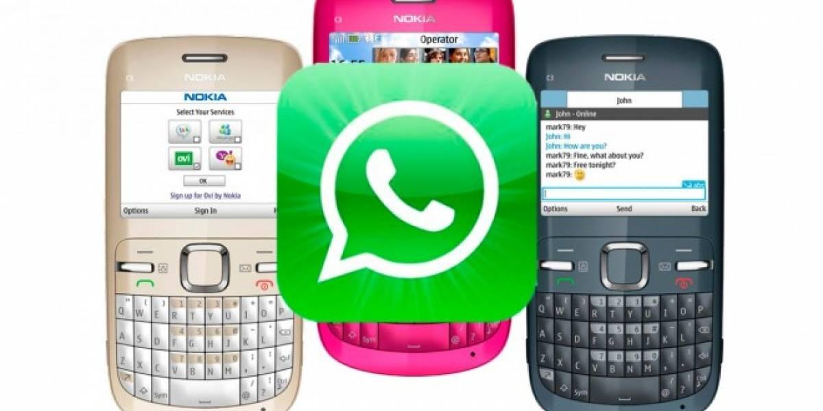 WhatsApp se actualiza en sus versiones para Nokia S40 y Asha