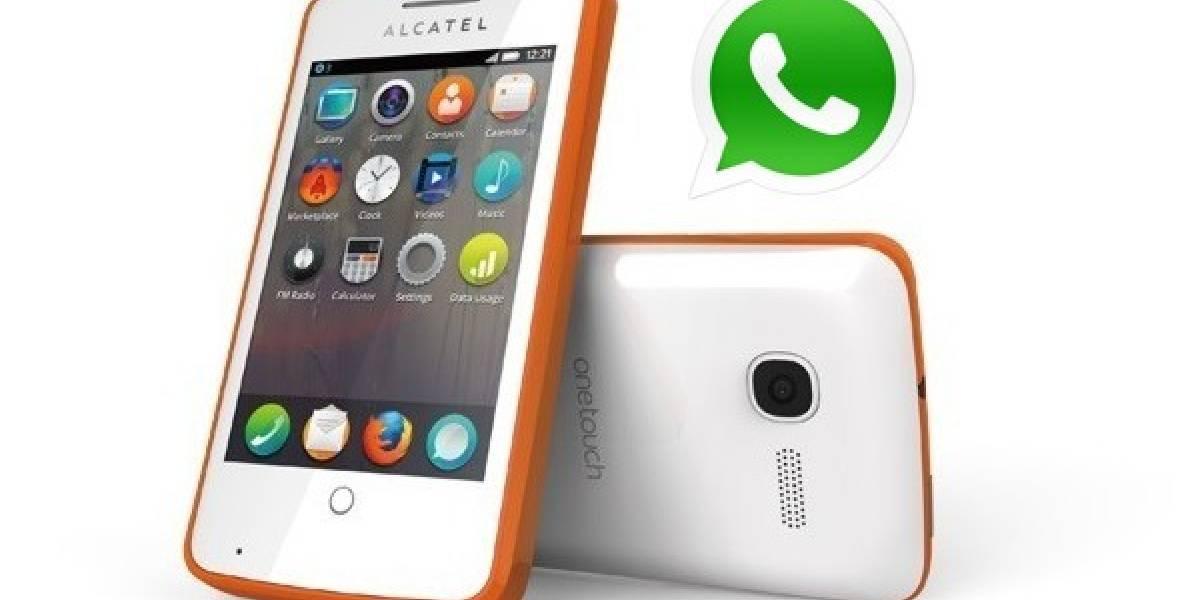 WhatsApp llega finalmente a Firefox OS (Actualizado)