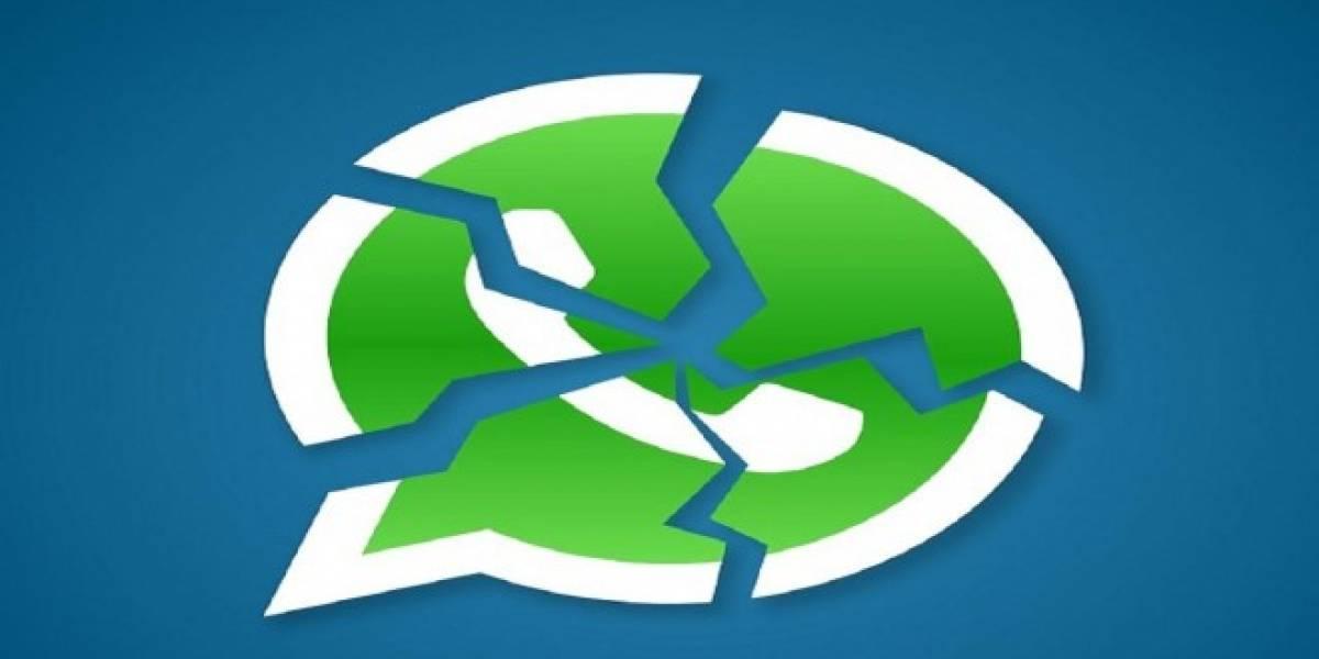 WhatsApp, con algunos problemas en víspera de Año Nuevo