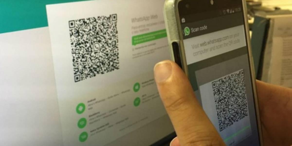 WhatsApp mejorará la seguridad de las conversaciones usando códigos QR