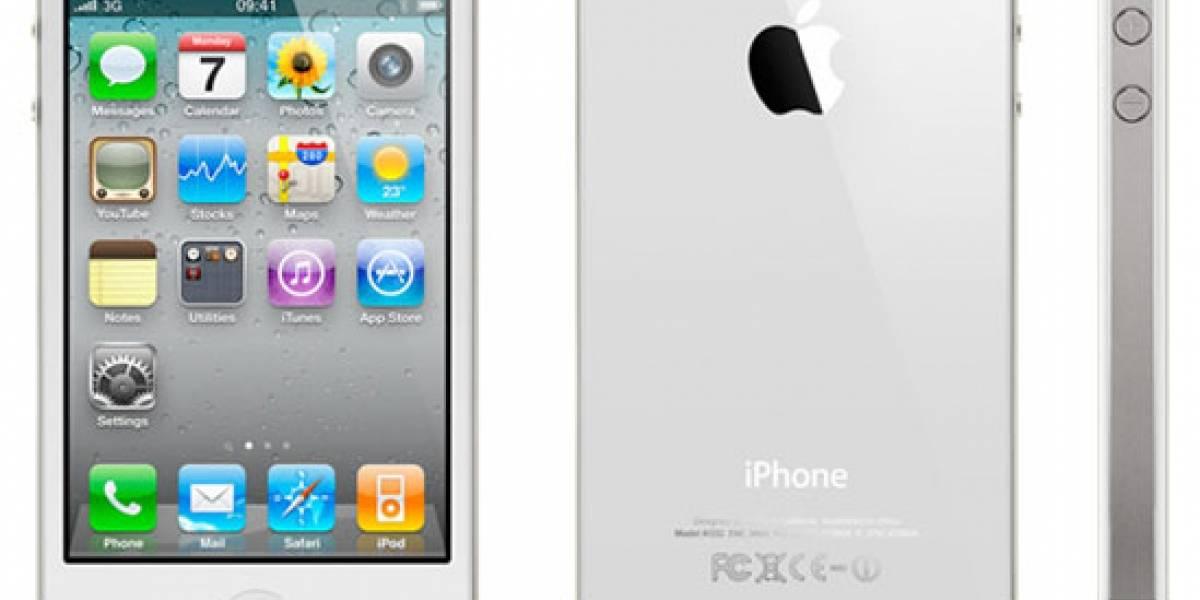 El iPhone 4 blanco podría debutar en Abril