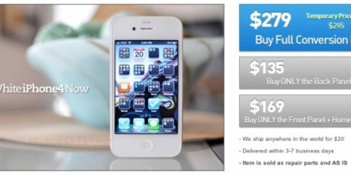 Apple demanda a adolescente por lucrar con piezas del iPhone 4 blanco
