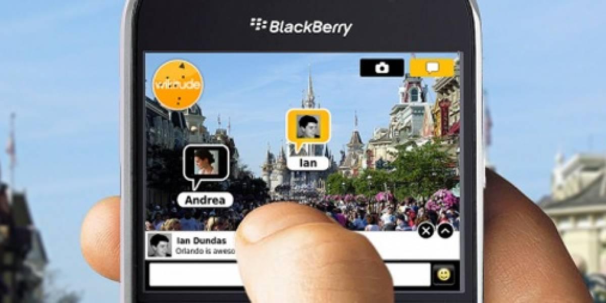 Los nuevos BlackBerry incorporarán explorador de realidad aumentada