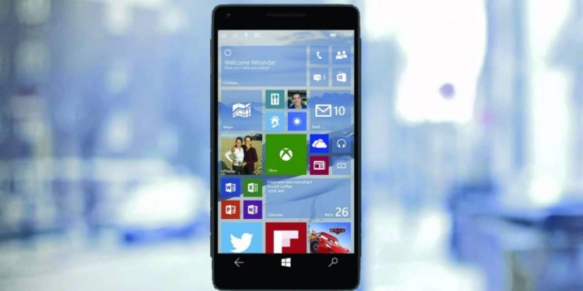 Windows 10 para móviles en más terminales llega este viernes