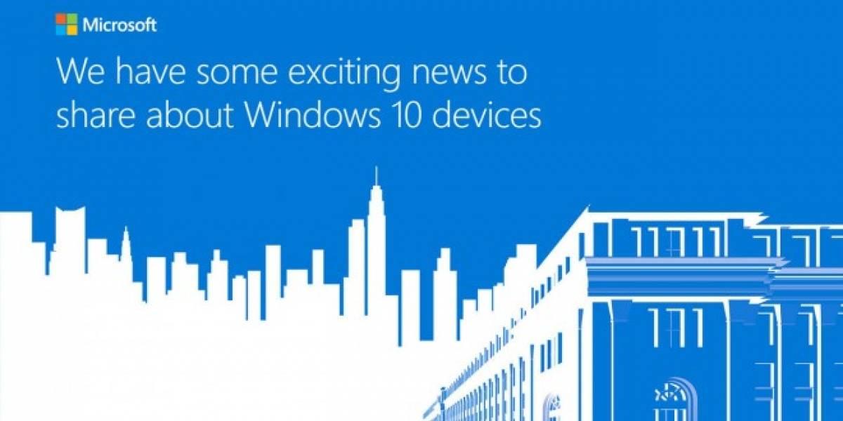 Sigue con nosotros el anuncio de los nuevos dispositivos de Microsoft