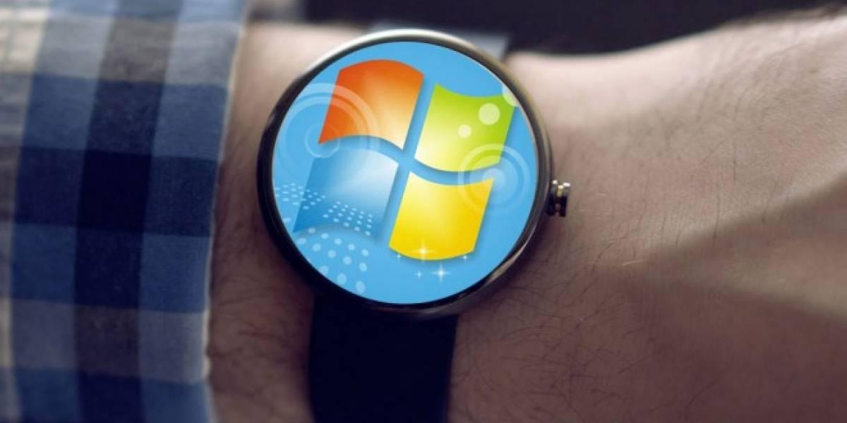 Puedes instalar Windows 7 en Android Wear si tienes 3 horas libres