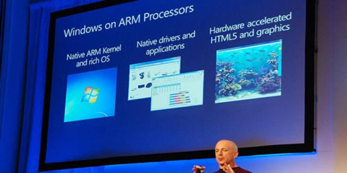 Intel no se inmuta con la versión ARM de Windows 8