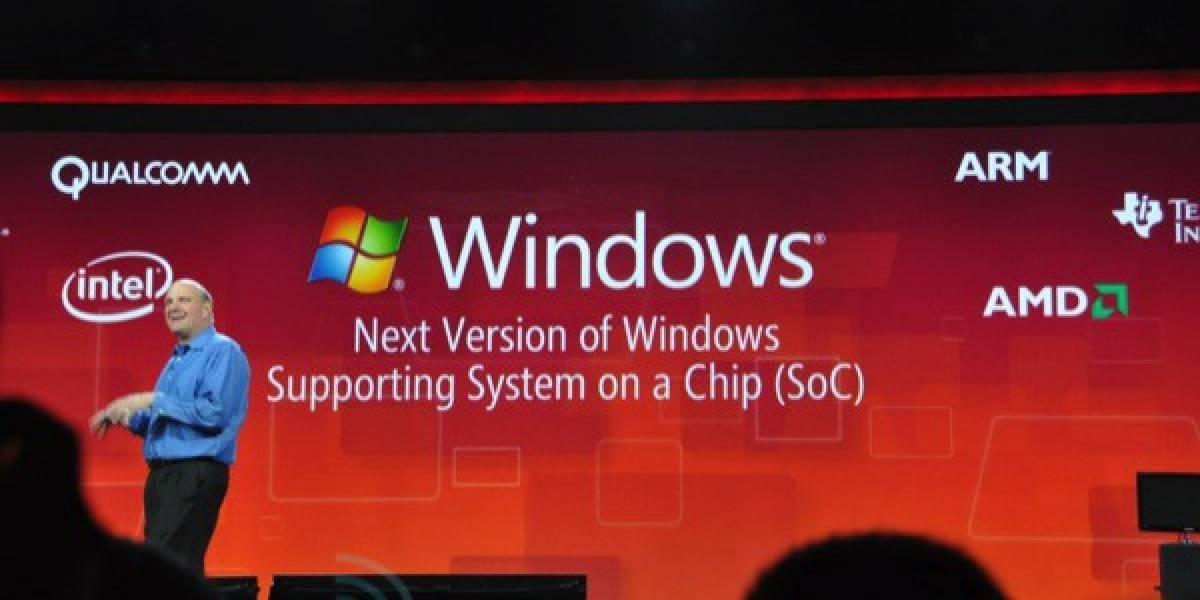 Microsoft demiente dichos de Intel respecto a Windows 8 en ARM