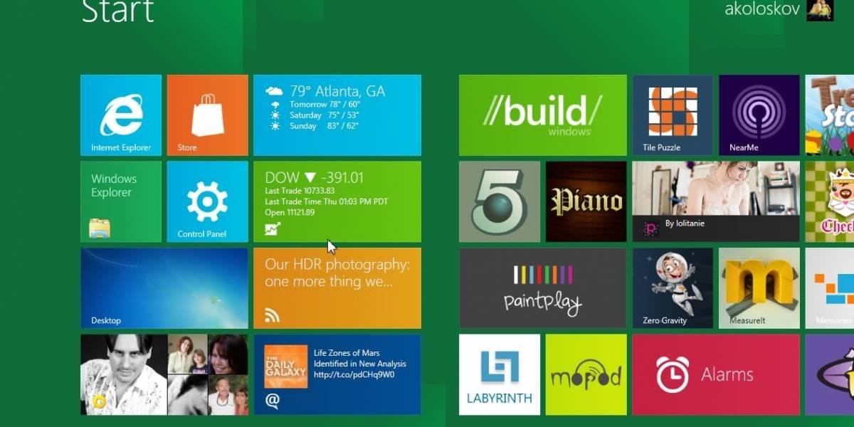 Acer y Lenovo podrían lanzar tablets con Windows 8 a fines de 2012