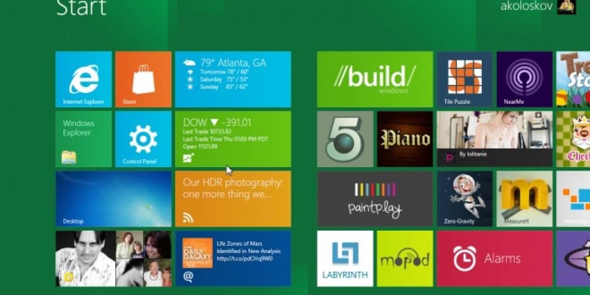Windows 8 podría ser lanzado en octubre