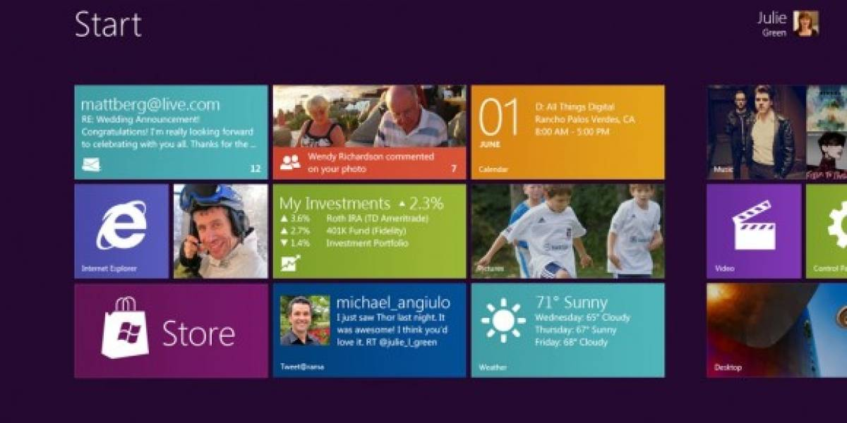 Windows 8 requerirá menos recursos que Windows 7