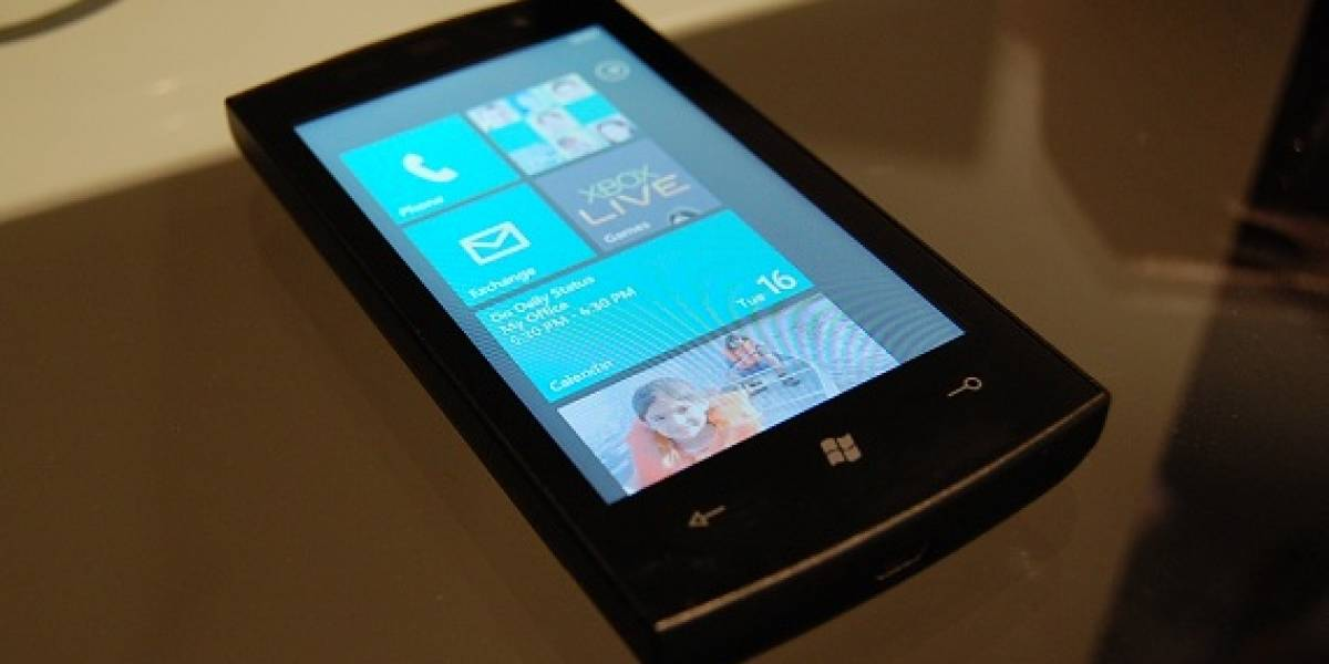 Windows Phone 7 ya está en manos de los fabricantes