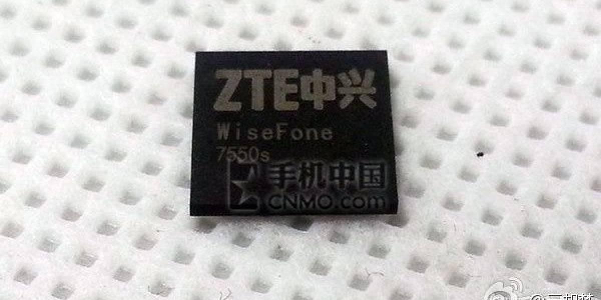 WiseFone 7550s, el SoC Octa-core que presentará ZTE en CES 2014