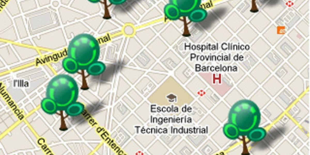 """España: Telefónica lanza aplicación de iPhone para plantar """"árboles de deseos"""""""