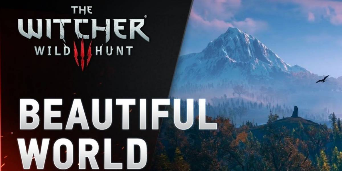 El hermoso mundo de The Witcher 3 [VIDEO]