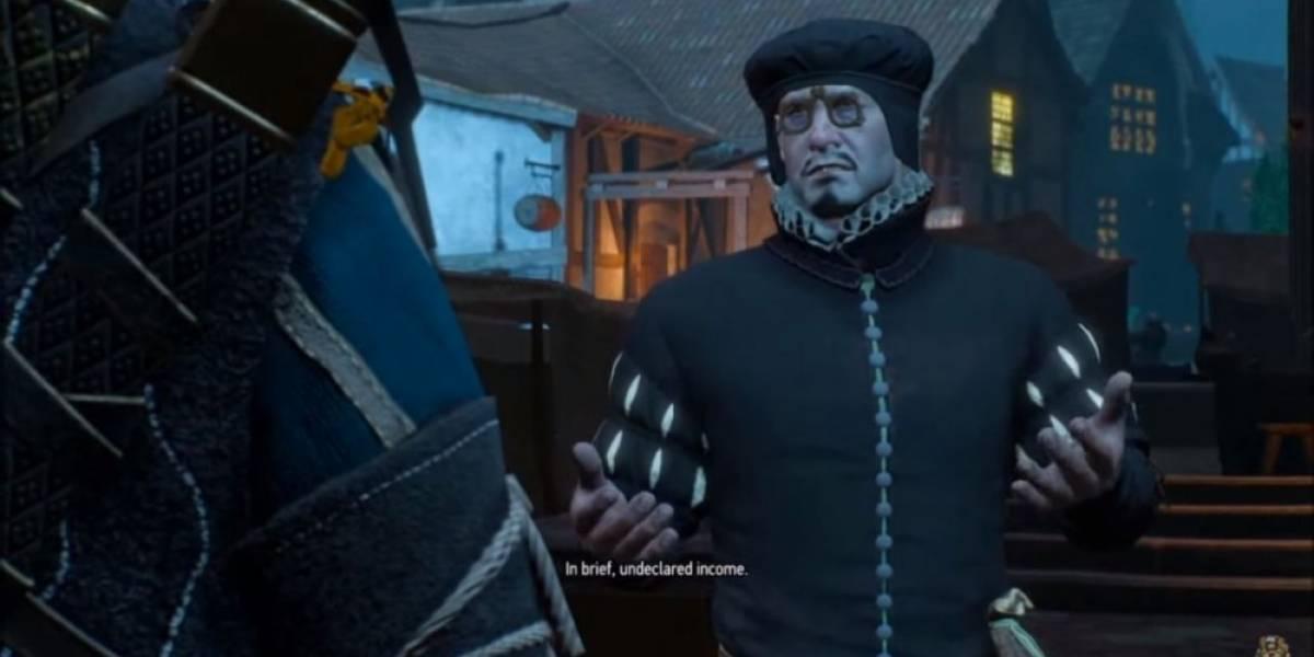 ¿Hiciste trampa en The Witcher 3? Cuidado con el cobrador de impuestos
