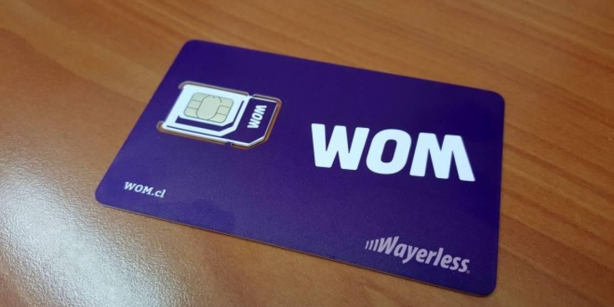 WOM da su primer golpe y en solo un mes ya lidera la portabilidad numérica