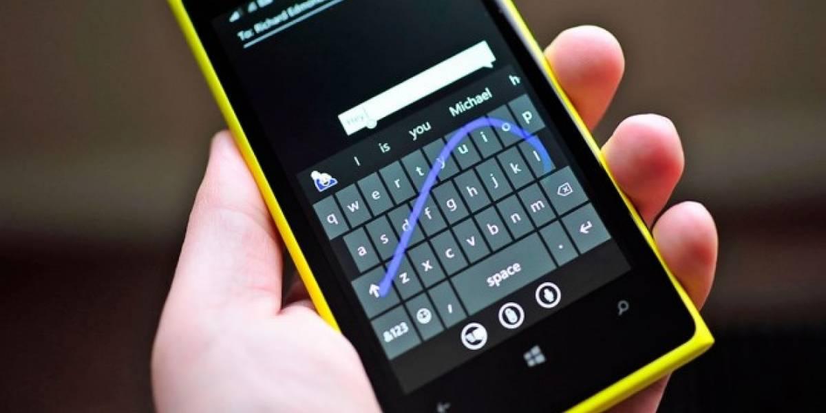 El teclado de Microsoft para iOS podrá controlarse con una mano