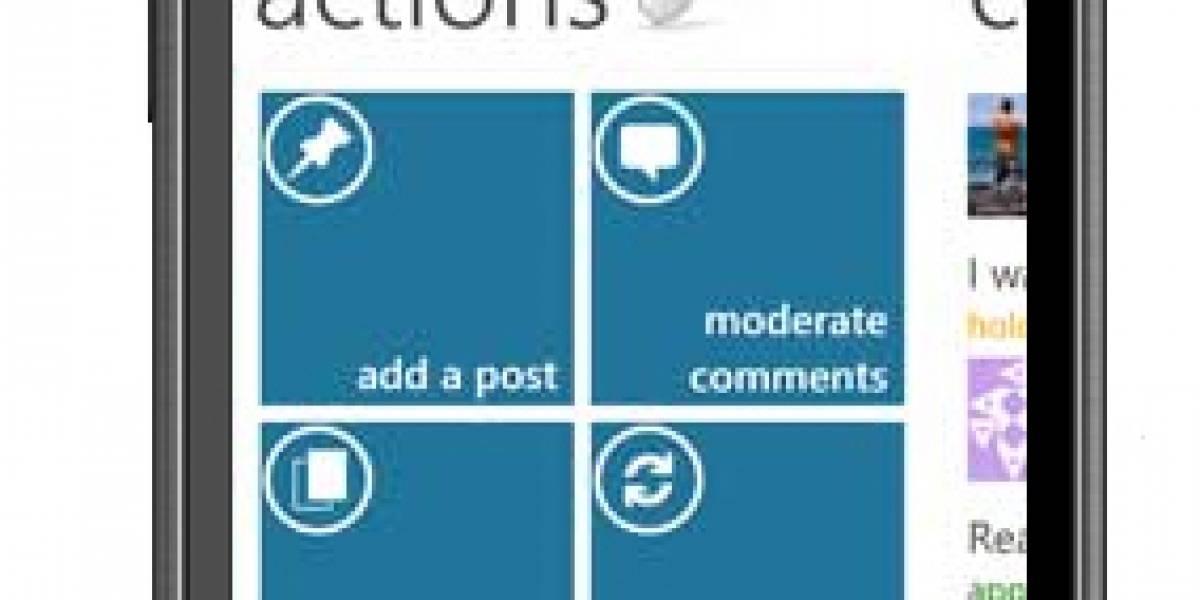 WordPress ya está listo para Windows Phone 7